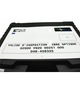 VALISE D INSPECTION FIBRE OPTIQUE